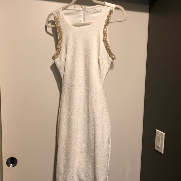 Just Me Dresses & Skirts - Just Me White Cocktail Dress